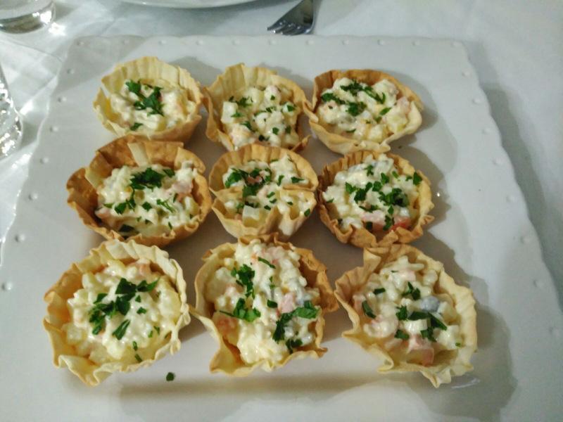 Cuarto Y Mitá Canastillas Con Obleas La Cocinera