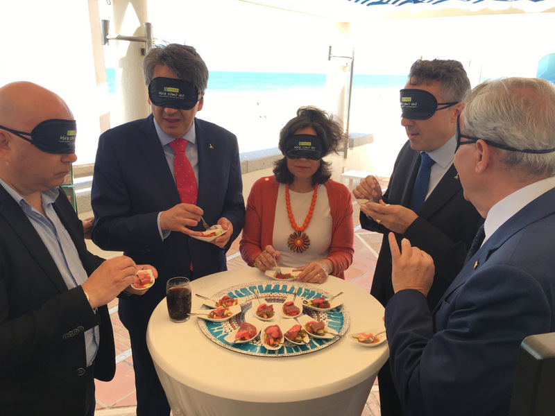 cata a ciegas Dia Mundial de la Tapa